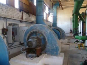 Реконструкция котельных с установкой частотно регулируемых приводов для управления вентиляторами, дымососами и насосами подпитки
