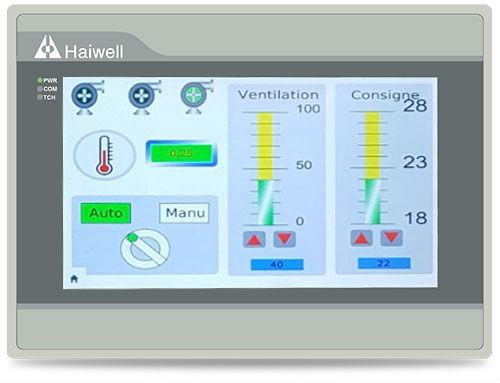 Панели оператора Ethernet Haiwell HMI