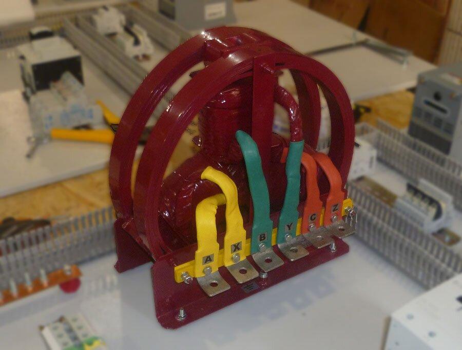 Купить реактор (дроссель) трехфазный сухой моторный