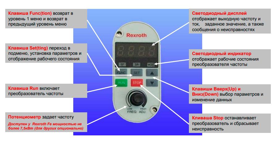 Пульт управления Bosch Rexroth fe